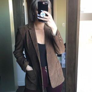 Brown corduroy type jacket